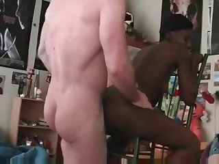 Amateur Black Girl Fucked From Behind By..